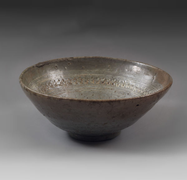 李朝三島茶碗