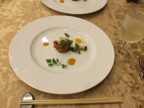 180922箱根マイユクール祥月夕食