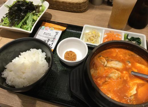 181119東京純豆腐夕食