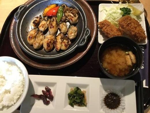 181123仙台かき徳昼食