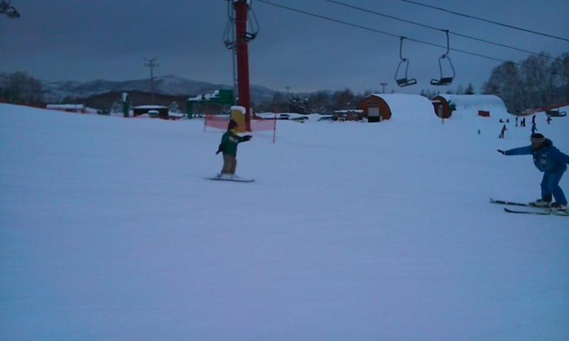skiデビュー
