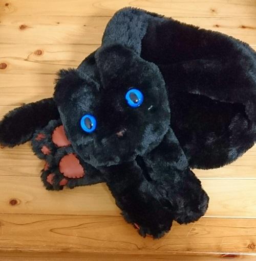 猫ミャフラーブラック