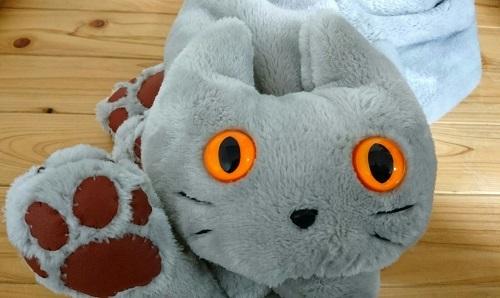 猫ミャフラー肉球