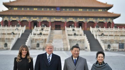 img_7ce8c689cb7a31d8eee1643d9d9353ca594960故宮(紫禁城)を訪れるドナルド・トランプ米大統領夫妻