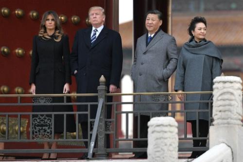 img_0114b572f2e19184971a02c536b898d8853088故宮(紫禁城)を訪れるドナルド・トランプ米大統領夫妻