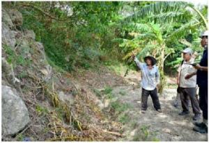 7ed9c5650436b5255149元知事の故大田昌秀さんが沖縄戦時、米軍に投降するまで身を隠したと確認された壕