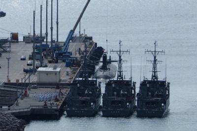 DOqfsi1U8AAG52E旭日旗が見える。海上自衛隊だ
