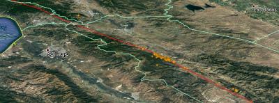 california-earthquakes-ゴンザレス、カリフォルニア州