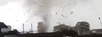 indonesia-tornado-november-22-2017インドネシア東ジャワ州
