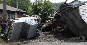 2Fe1draaチリ南部の村で土砂崩れ