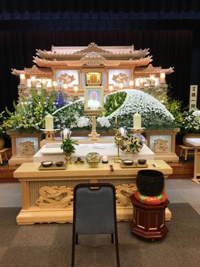 葬儀 花祭壇 JAやすらぎ 豊川 御津 花屋 花夢