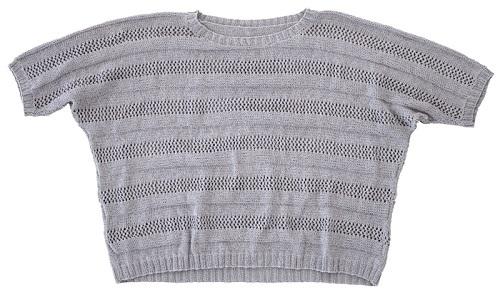 1832zakkaロワールコットンワイドネックセーター