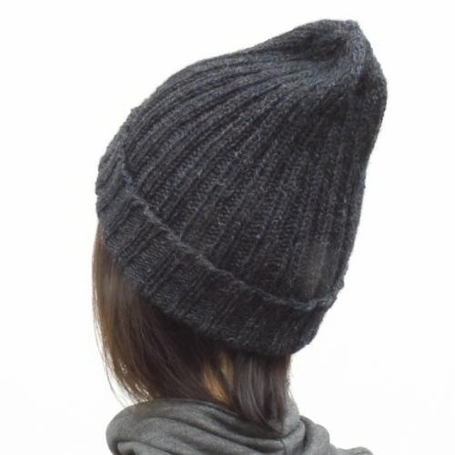 1918ツリーハウスフォレスト二目ゴム編みとんがり帽子
