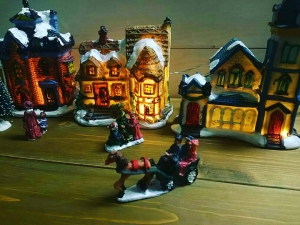 クリスマスハウス3セット
