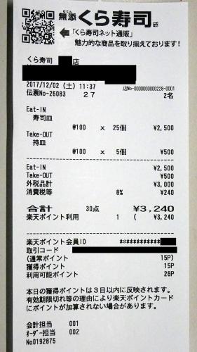 くら寿司20171202