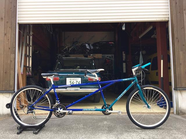 タンデム自転車 khs