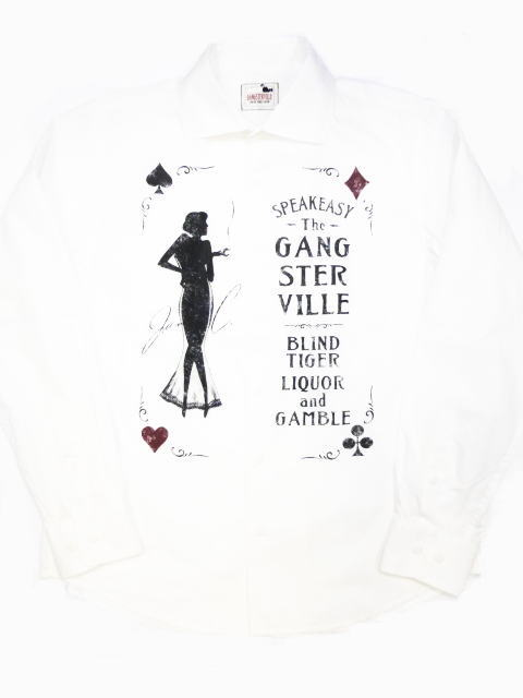 GANGSTERVILLE SPEAKEASY-L/S SHIRTS