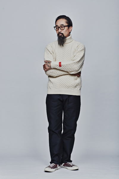 SOFTMACHINE TERENCE SWEATER SMITH ARMY PANTS PARKES GLASS
