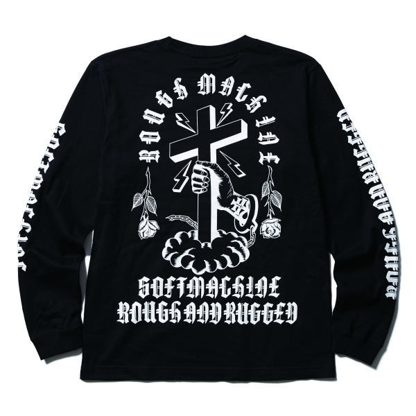 SOFTMACHINE×ROUGH AND RUGGED ROUGH MACHINE L/S