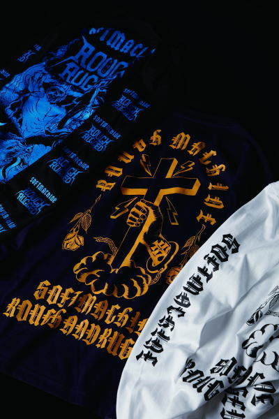 SOFTMACHINE×ROUGH AND RUGGED ROUGH MACHINE L/S HELL RIDE L/S