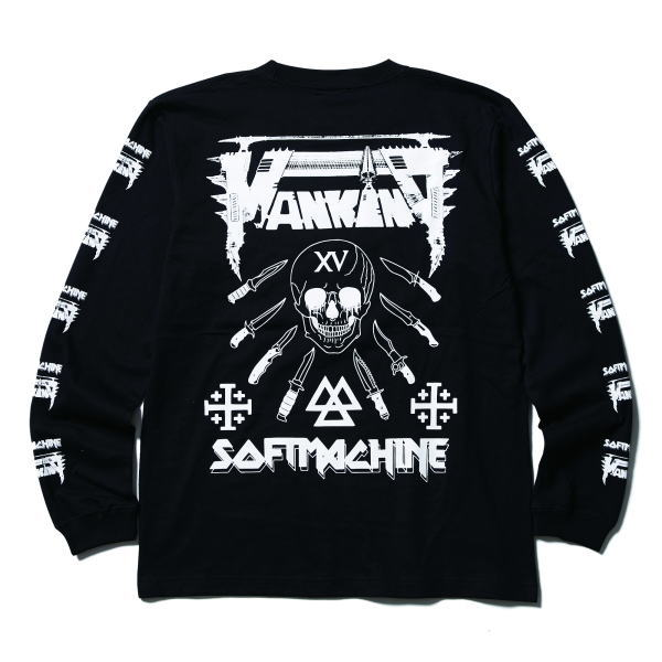 SOFTMACHINE×MANKIND WAR AND PAIN L/S