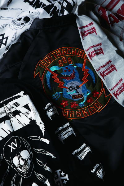 SOFTMACHINE×MANKIND WAR AND PAIN L/S WAR AND PAIN JK SM ARKANSAS JK