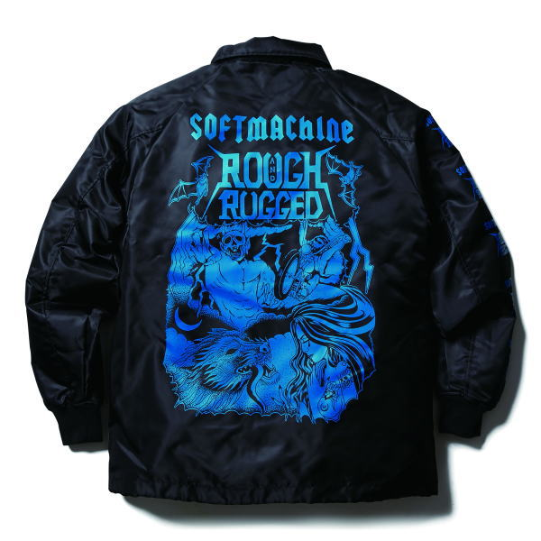 SOFTMACHINE×ROUGH AND RUGGED HELL RIDE JK