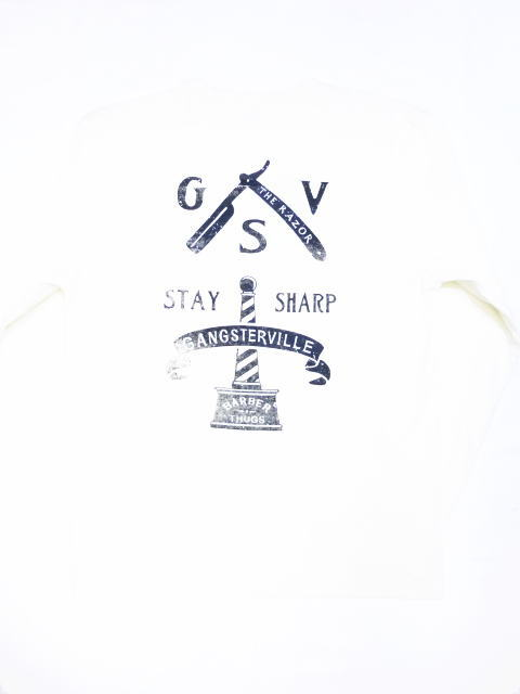 GANGSTERVILLE CLASSIC PARLOR-L/S HENRY T-SHIRTS