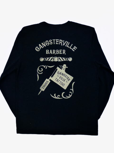 GANGSTERVILLE TATTOO PARLOR-L/S T-SHIRTS
