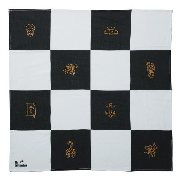 SOFTMACHINE CHESSBOARD BANDANA