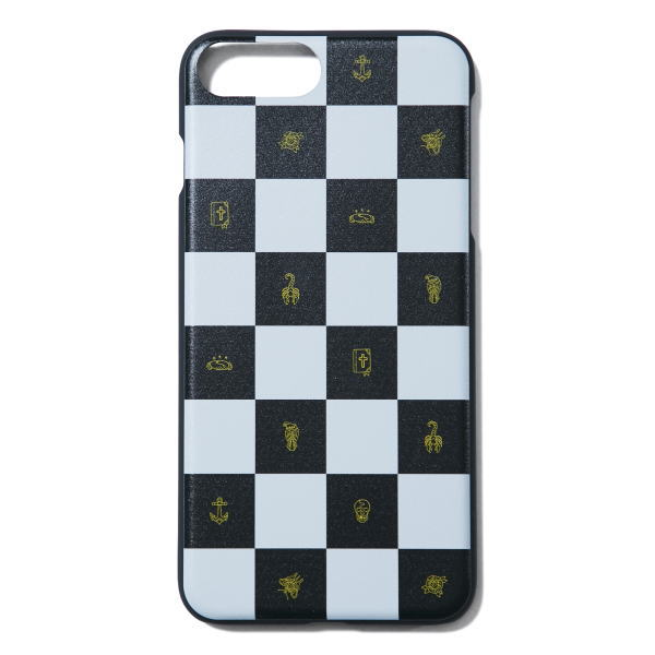 SOFTMACHINE CHESSBOARD iPhone CASE 7&8