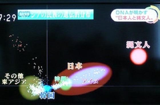 祖先が縄文人の日本人は、今でも支那人や朝鮮人とは別人種!『NHKニュース「おはよう日本」』