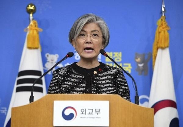 康京和「自発的な真の謝罪を」「合意は解決にならない」「国際的かつ普遍的な基準で努力を続けろ」