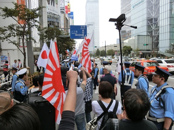 20170924政府に対し国民の声を!デモ行進