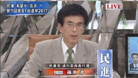 衆議院議員 民主党の篠原孝