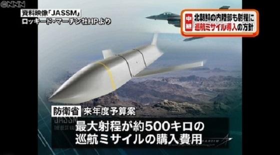 防衛省の巡航ミサイル導入方針に野党反発