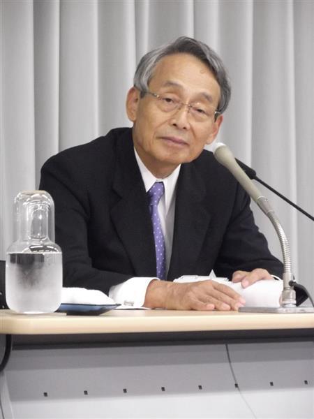 民放連トップの井上弘TBSテレビ名誉会長「報道の編成方針は各社の判断」 「偏向報道」抗議デモ受け
