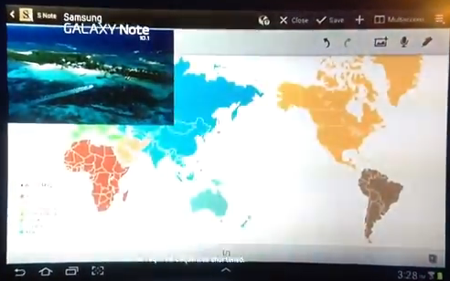 【動画】サムスン、GALAXYのCMで世界地図から日本の本州をなくす