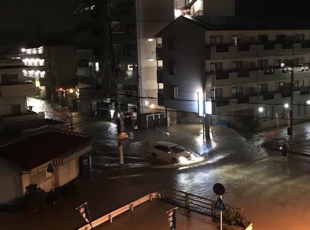 大和川周辺えっぐ!民主党時代の蓮舫氏による事業仕分けで廃止になった『スーパー堤防』、対象地域だった大和川が氾濫…