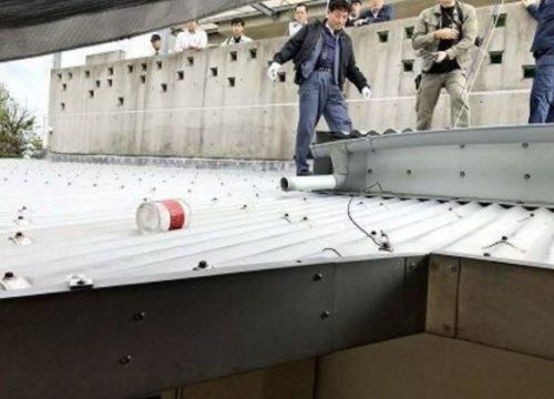 保育園に落ちた米軍ヘリの落下物、自作自演疑惑が浮上