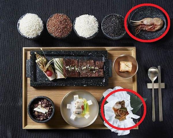 米韓首脳晩餐会で「独島エビ」 の和え物