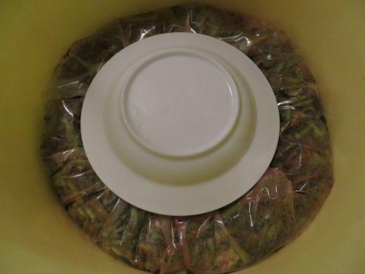 野沢菜の味噌漬け