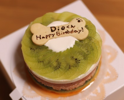 今年のお誕生日ケーキ♪