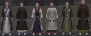 漢民族の衣装・島嶼編 直裾深衣