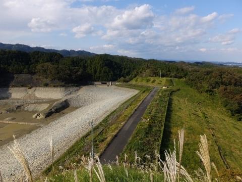 本沢ダム堰堤