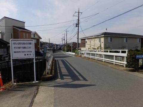 鳩川の白鷺橋