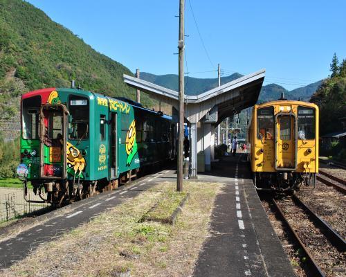 2列車に分割2