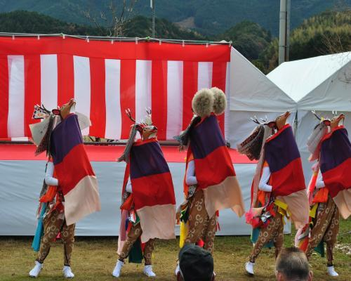五つ鹿踊り