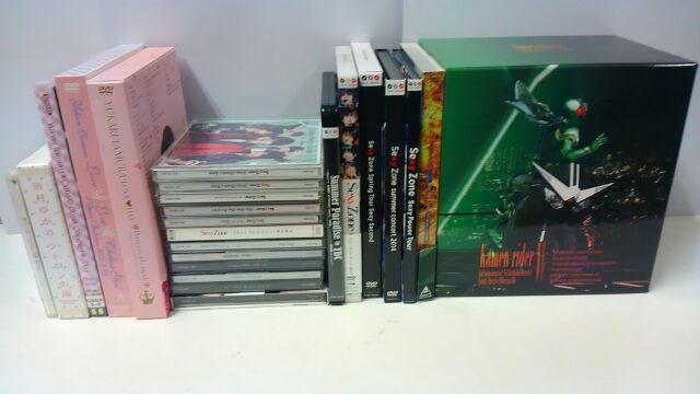 Sexy Zone_田村ゆかり_CD_DVD_買取_仮面ライダー_DVDボックス