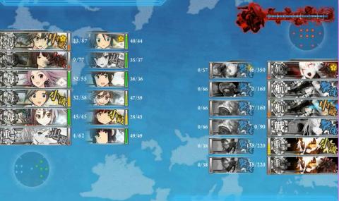 E-3戦力2昼終了